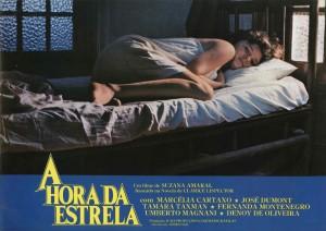 Poster de A Hora da Estrela
